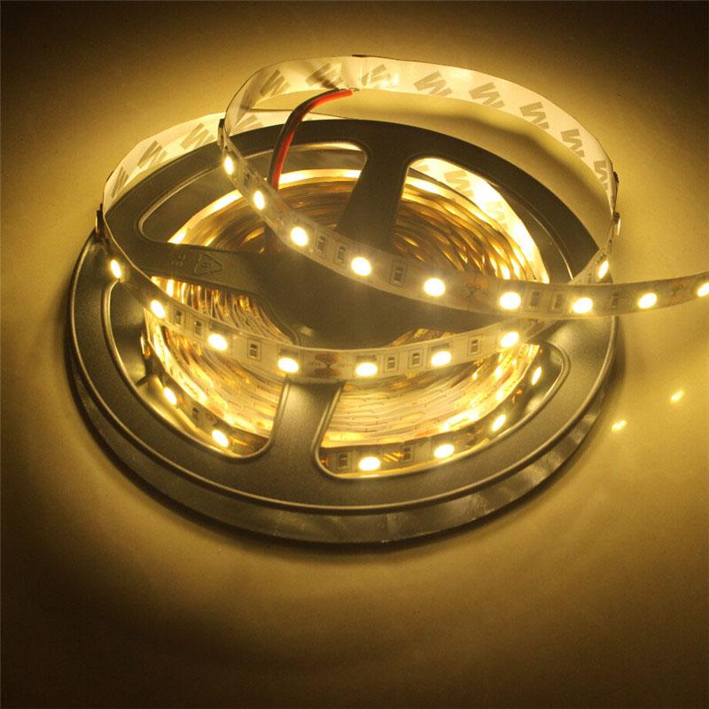 5M SMD5050 300 LED Non-Waterproof Flexible Strip Light Warm White Colour