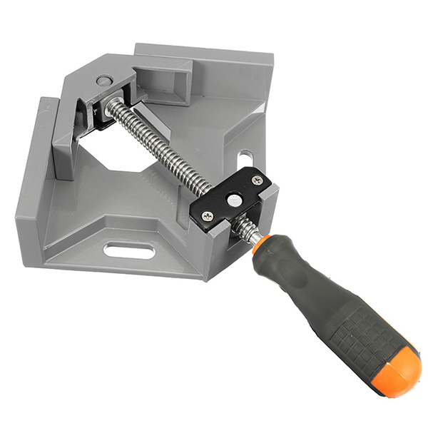 Aluminum Alloy Die-casting 90 Degrees Right Angle Corner Vice Clamp Tool for Woodworking