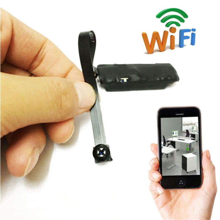 Mini Wireless Hidden Spy Camera P2P for iOS Android