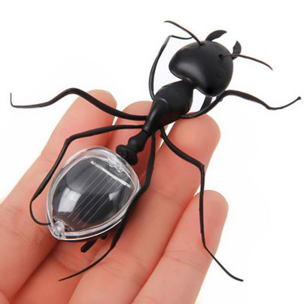 Good Solar powered Ant Insect Energy-saving Model Toy Gift for Education Prank