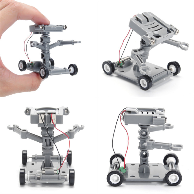 DIY Assembly Salt Water Powered Robot Kit Education Toy