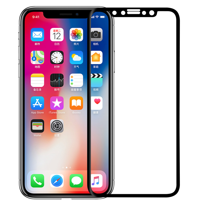 NILLKIN 3D Arc Edge Anti-Explosion Soft Screen Protector Film for iPhone X