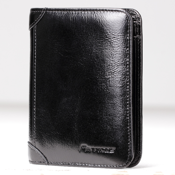Men's RFID Blocking Secure Wallet Black Colour