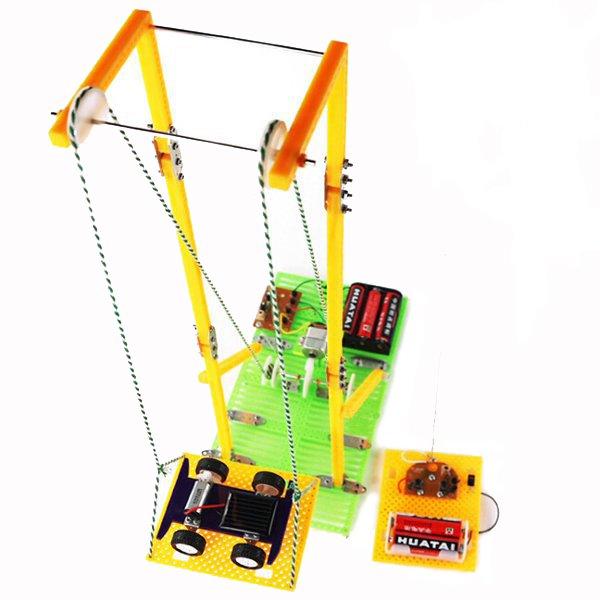 DIY Assembly Educational Construction Electronic Model RC Electric Elevator