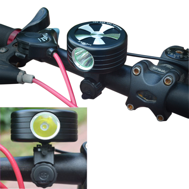650LM XM-L2 T6 LED 3-Mode 360 Rotation Waterproof Bike Headlight