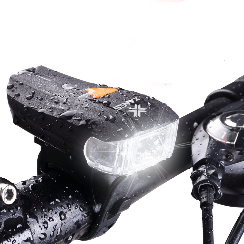 600LM XPG + 2 LED Smart Sensor Bicycle Headlight