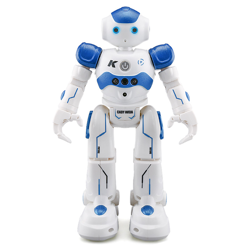 JJRC R2 Cady USB Charging Dancing Gesture gesturable Control Robot Toy - Blue