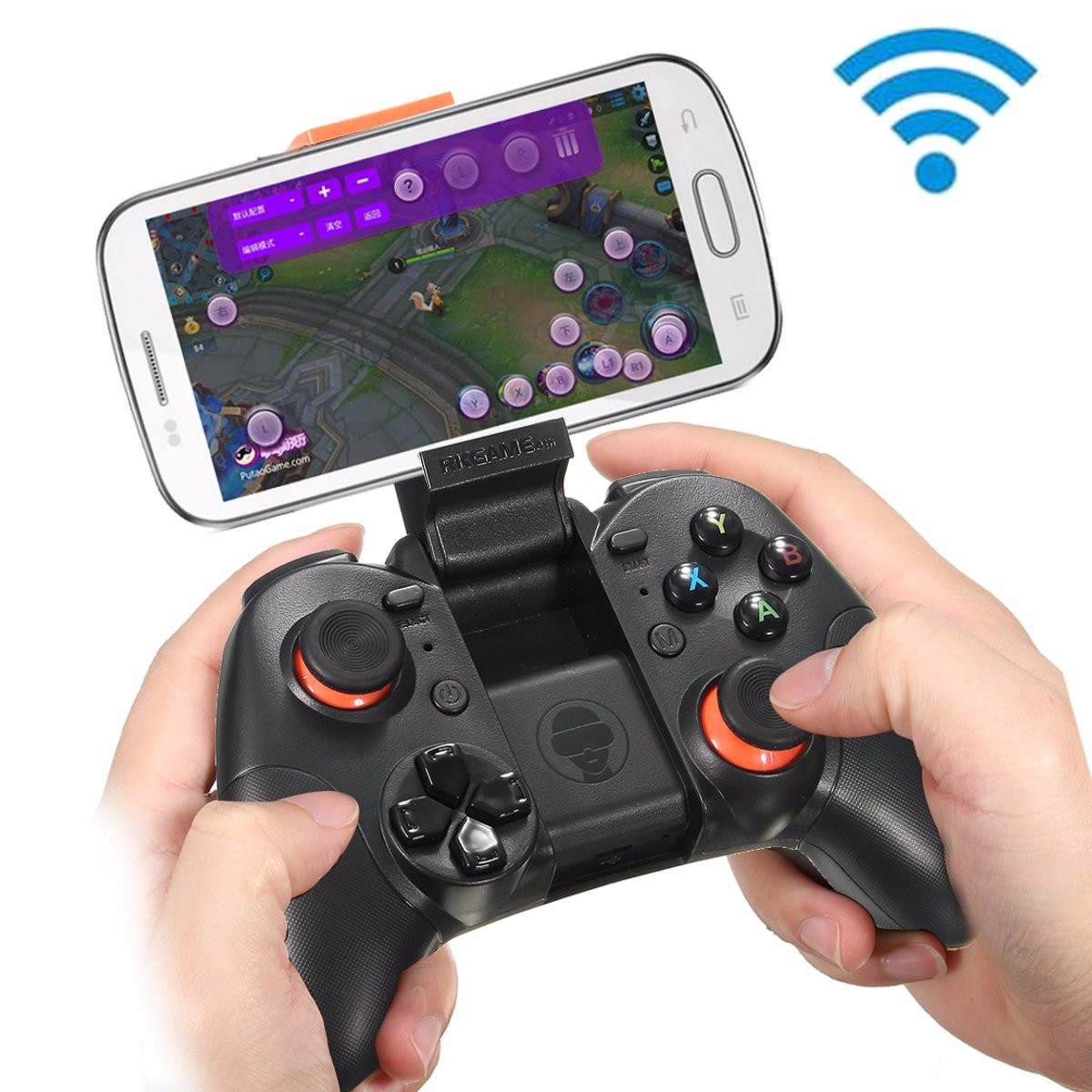 Bluetooth Wireless Game Controller Game pad Gaming Joystick for Android iOS PC emulator