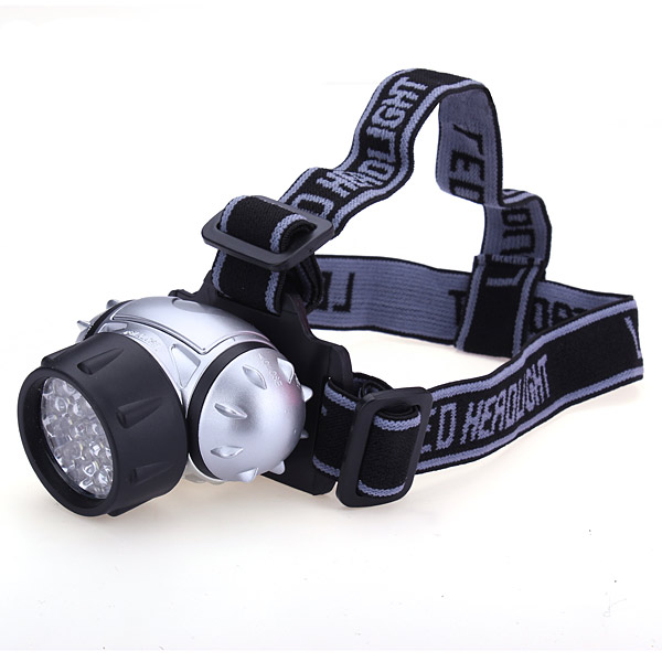 21 LED Portable Waterproof Headlamp Headlight for Outdoor Cycling Floodlight Lightweight