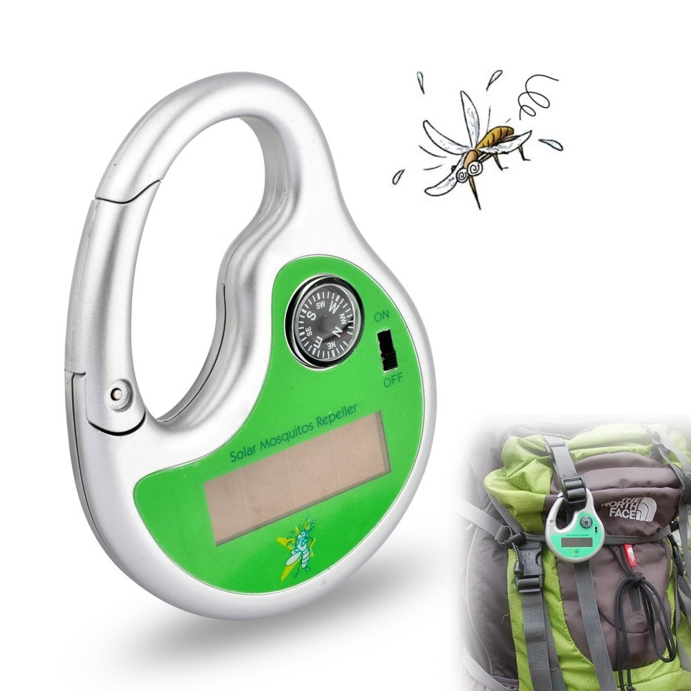Solar Power Portable Ultrasonic Mosquito Repeller