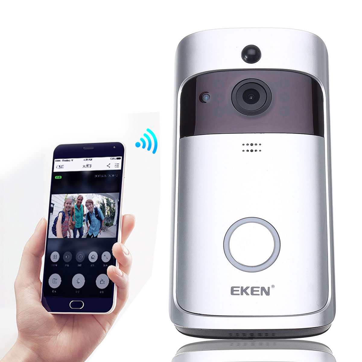 EKEN A8 Smart WiFi Video Visible Motion Detection Doorbell