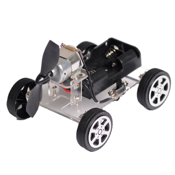 Mini Educational car Wind DIY Puzzle Robot Kit For Arduino wind toy