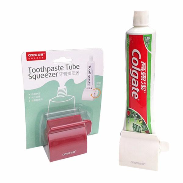 Honana BX-924 Anya ABS Creative Bathroom Toothpaste Tube Squeezer Multifunction