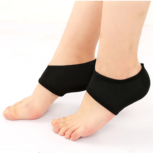 Foot Ankle Fasciitis Support Thicken Cushion Plantar Protector for Heel Pain Relief Dancing