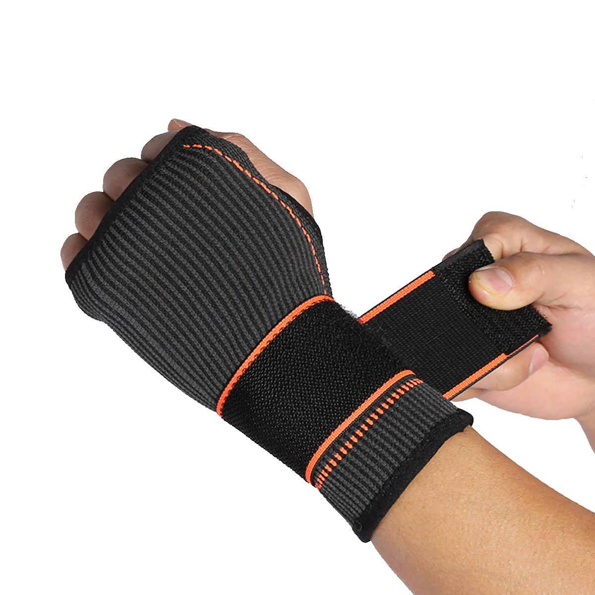 1Pc Adjustable Prevent fatigue Wrist Hand Palm Brace Strap Wraps Hand Prevent Sprains