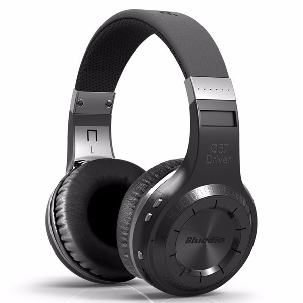 Bluedio HT Wireless Bluetooth 4.1 Stereo Headset Earphone Headphone with Mic - Black