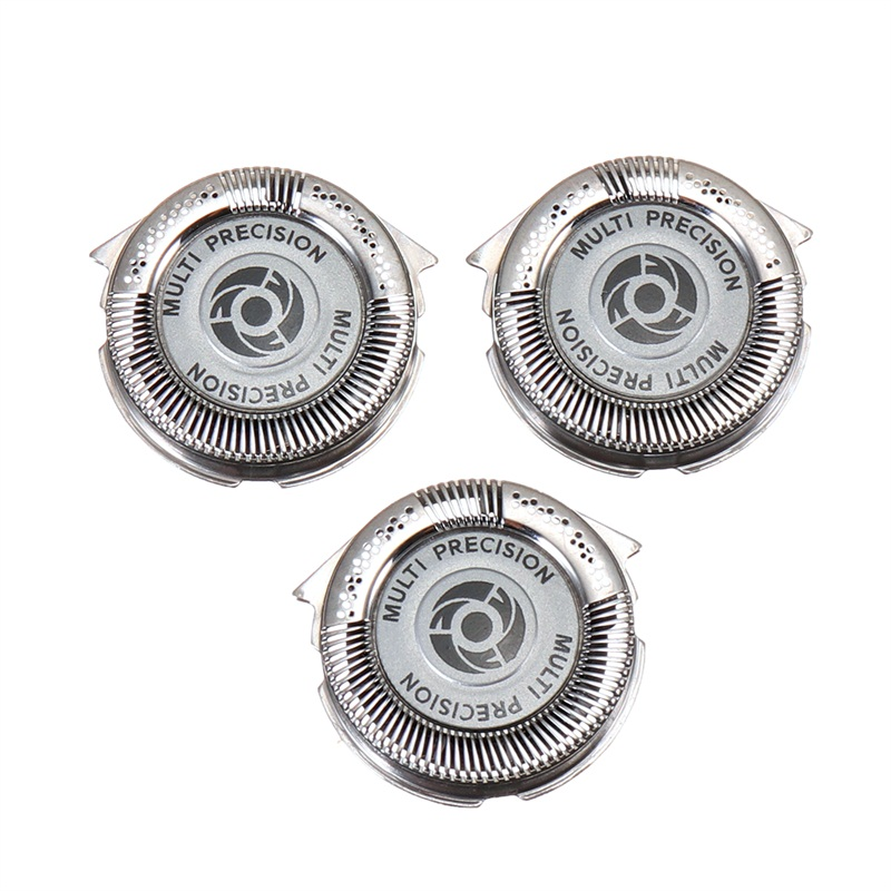 3Pcs Shaver Replacement Heads Shaving for Philips S5 HQ8 PT7 AT7 PT8 AT8 All Series