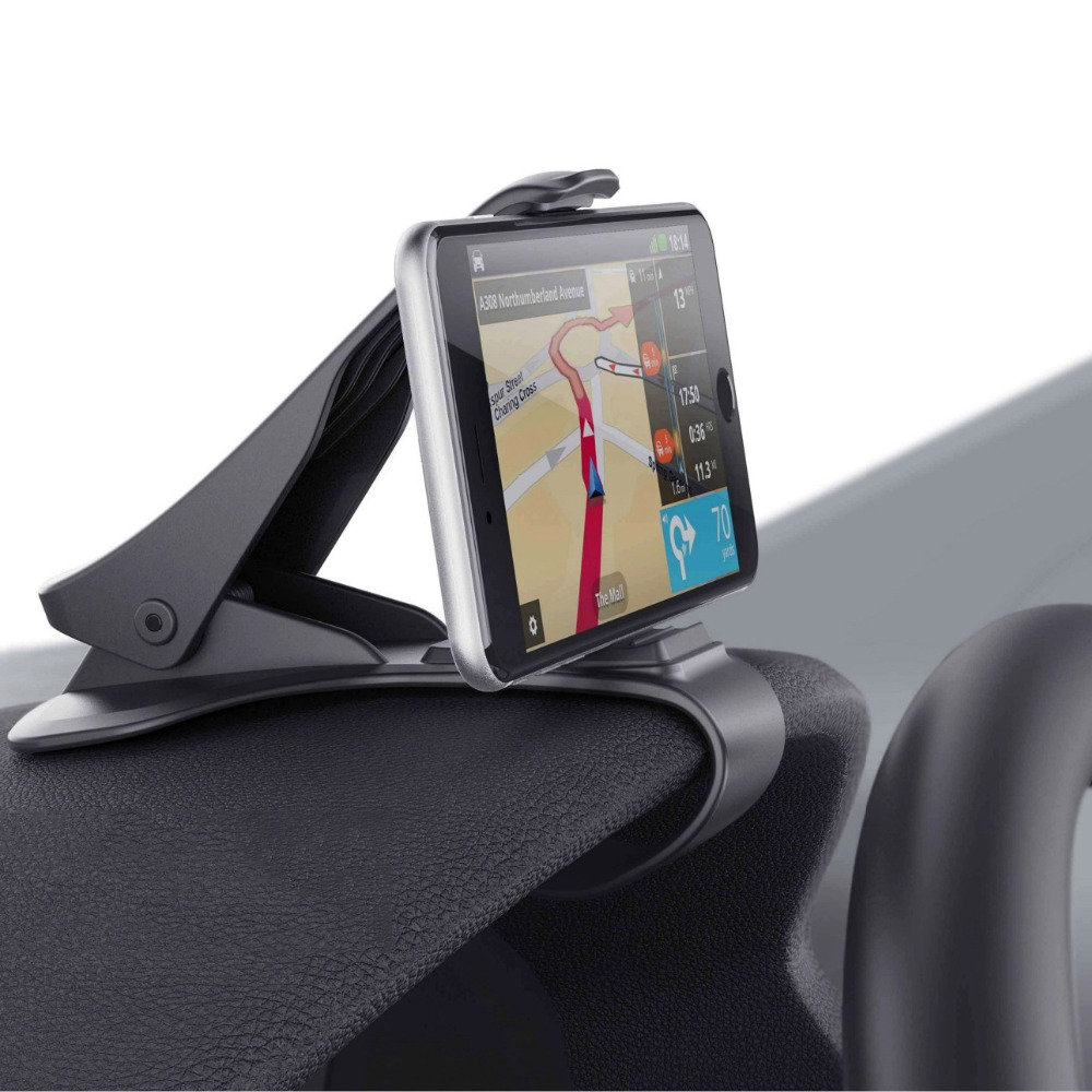 Universal Non-Slip Car Mount Holder Adjustable for Smartphone GPS fit for 6.5'' cellphone