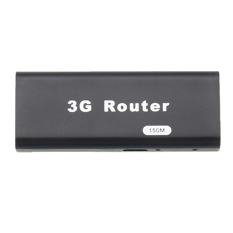 Portable 3G WiFi Hotspot IEEE802.11b/g/n 150Mbps USB Router