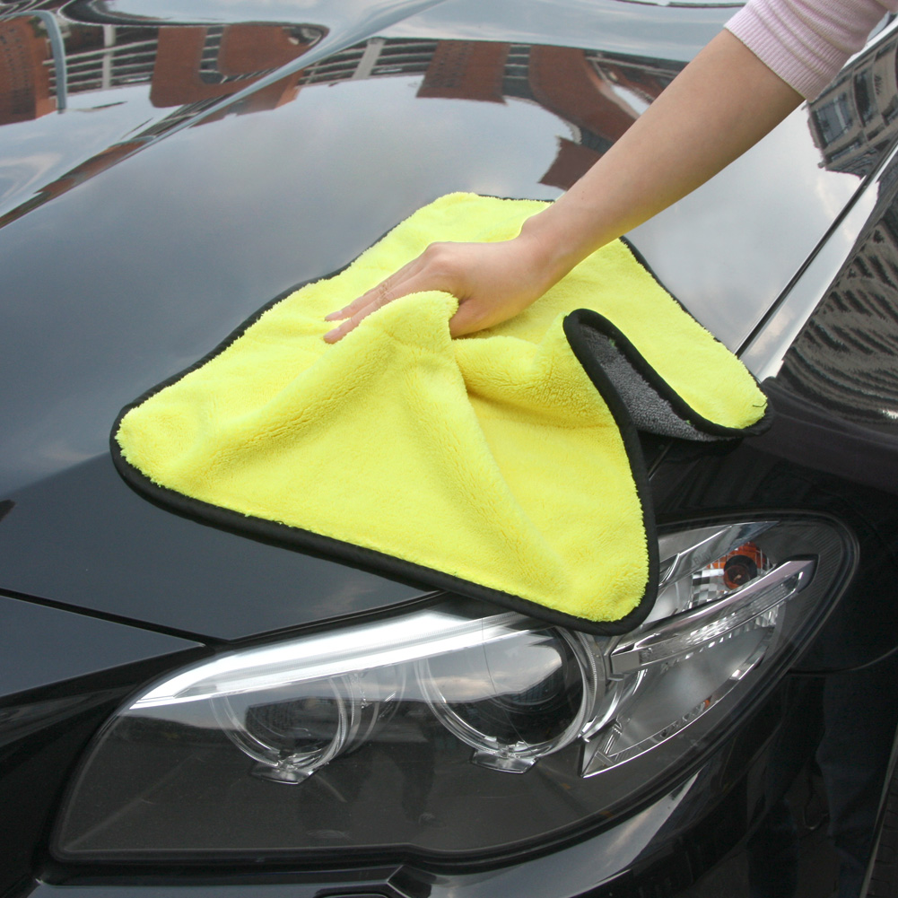45x38cm Quick Dry Microfiber Cleaning Towel Auto Car Soft Cloth Wash Cloth Tool