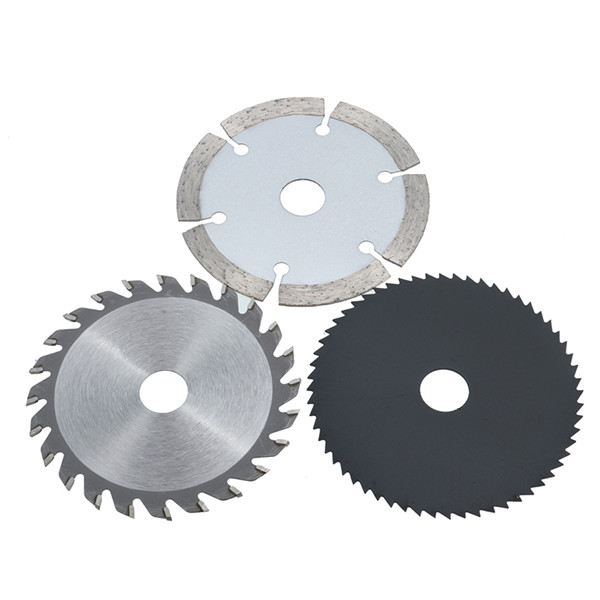 3pcs 85mm Circular Saw Blades Set Tungsten Wood Working Rotary Tool Cutting Discs Kit