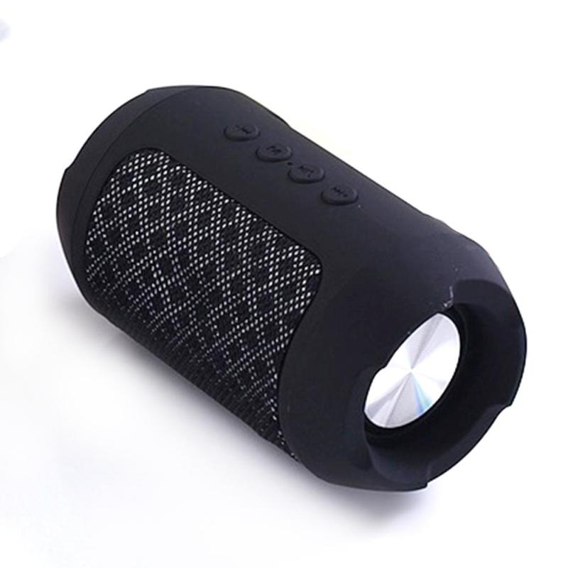 Portable Wireless Bluetooth Speaker Hands free Waterproof Outdoors Speaker - Black