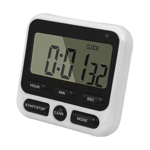Multifunction Magnetic Big Digit 24-Hours Digital Kitchen Clock Cooking Timer Countdown