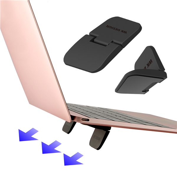 2pcs Anti-skid Foldable Desktop Stand Holder Heat Dissipation for Phone Tablet Laptop