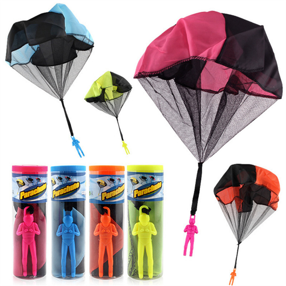 Parachute Toy Throw and Drop outdoor Fun Outdoor With Soldier Doll - Random Color