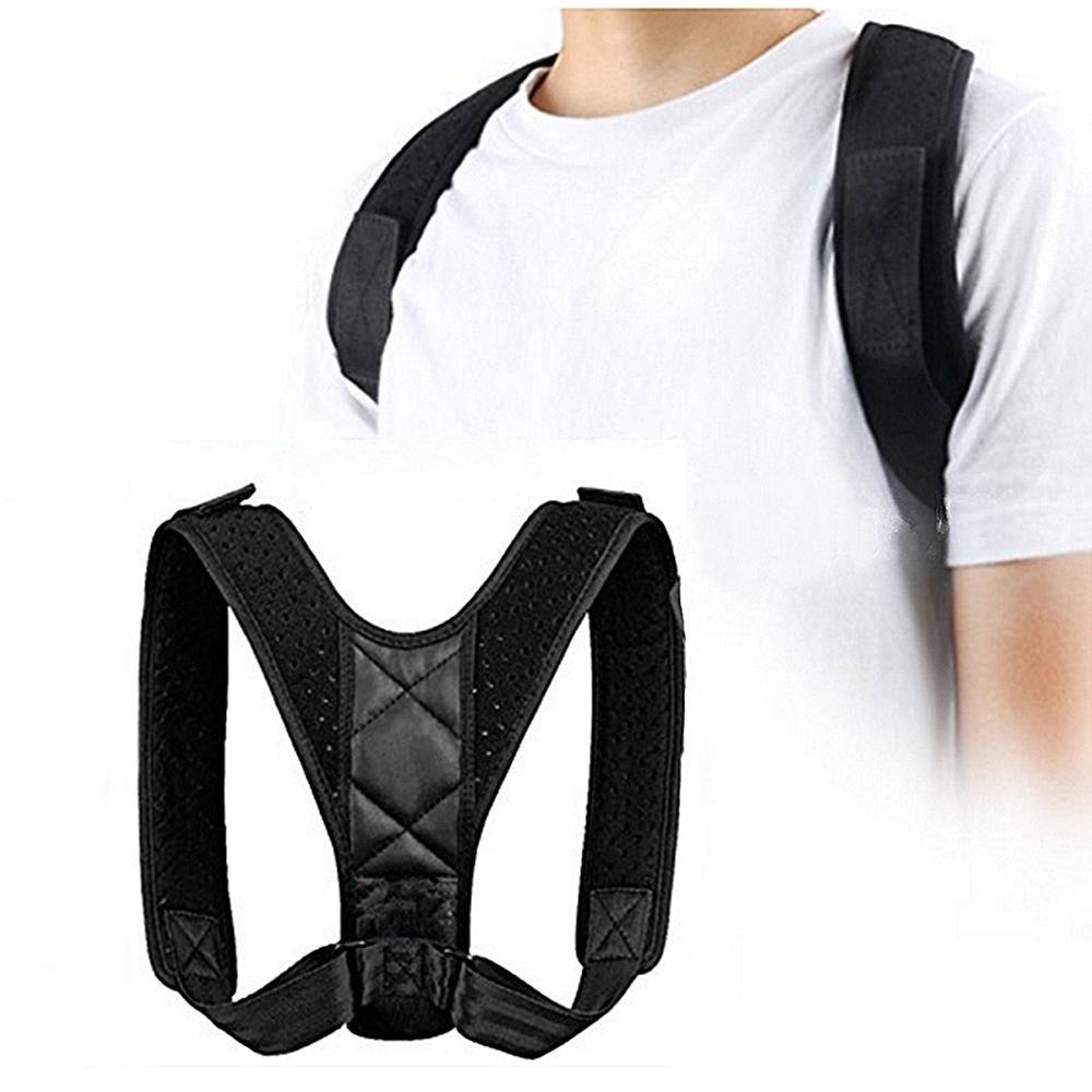 Posture Clavicle Support Corrector Straight Shoulders Brace Strap Correct Back Support