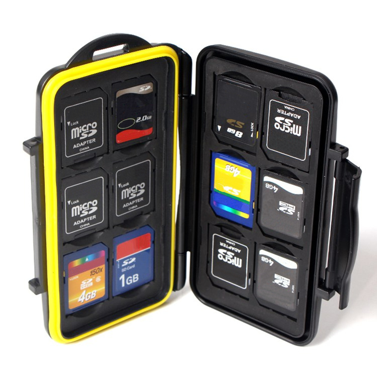Waterproof Memory Card Case Box Protector Hard Pouch Organizer