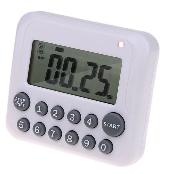Digital LCD Cooking Timer Alarm Count-down Up Reminder Kitchen