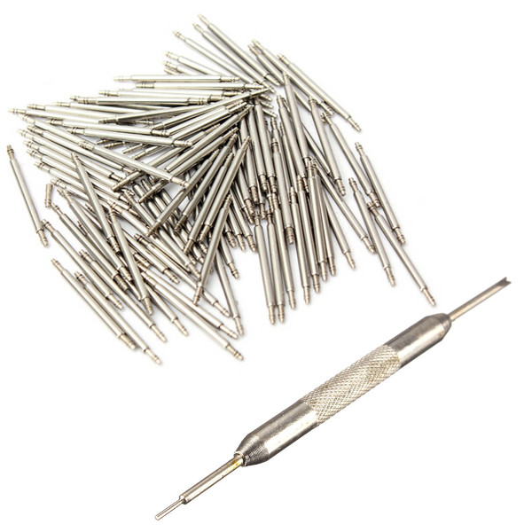 108Pcs 8mm to 25mm Watch Band Spring Bar Strap Link Pins Remover Tool