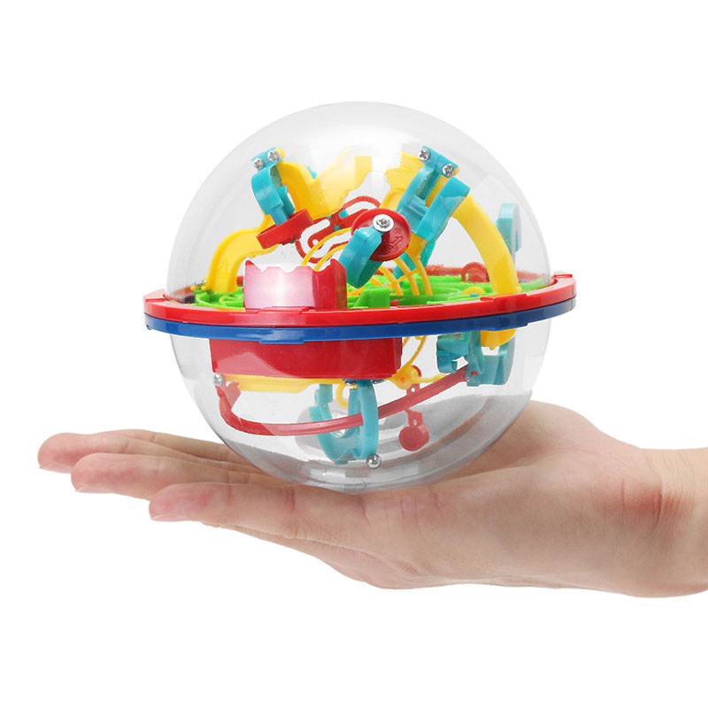 Magical Intellect Maze Ball 100 Steps Toy Gift