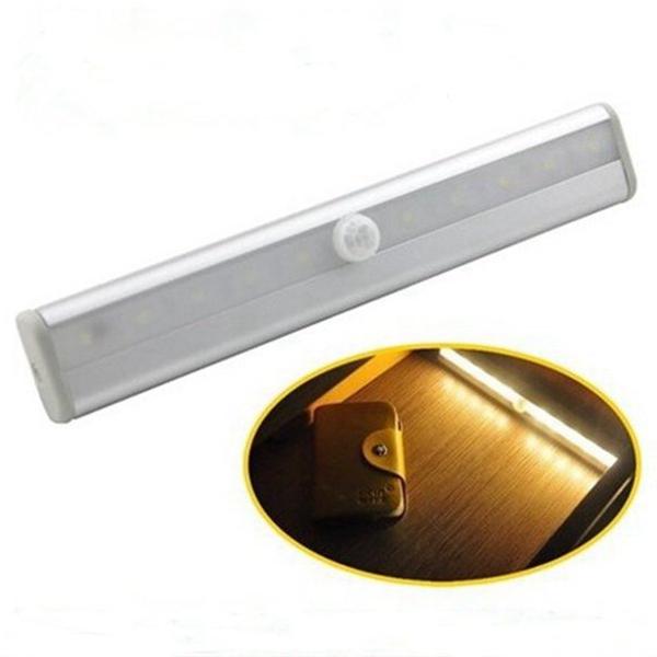led light motion sensor activated pir for cabinet wardrobe. Black Bedroom Furniture Sets. Home Design Ideas