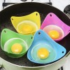 4x Silicone Egg Poach Poacher Cup Pod for Kitchen Cooking Baking