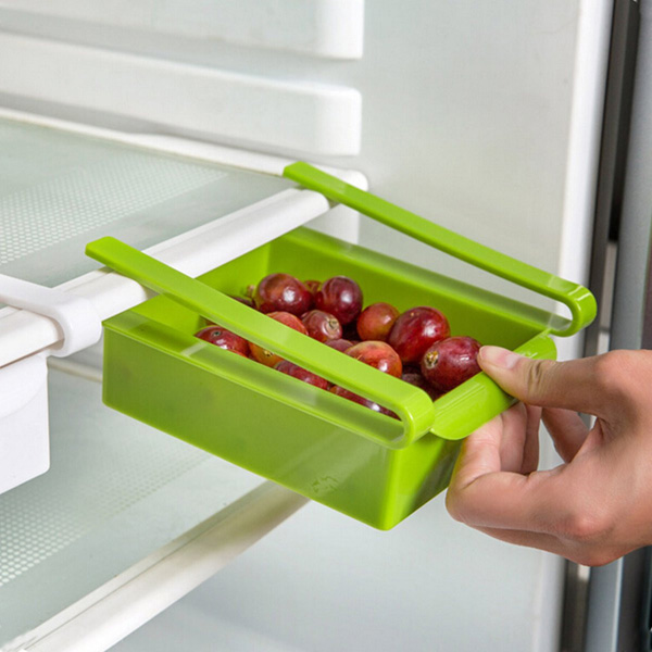 Refrigerator Freezer Storage Rack Holder For Kitchen Food