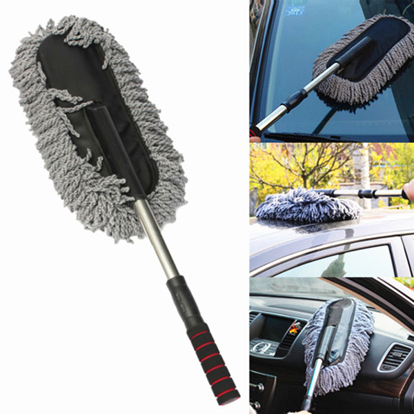 microfiber telescoping car dusting wax tool cleaning brush duster online shopping shopping. Black Bedroom Furniture Sets. Home Design Ideas