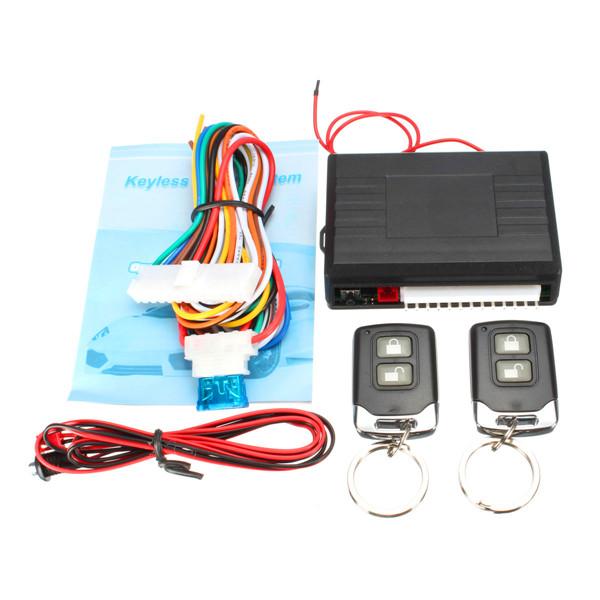 Universal Car Keyless Remote Control Centrol Lock Auto Security Entry System