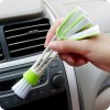Double Head Car Air Brush Air-condition Louver Instrument Panel Cleaning Tool