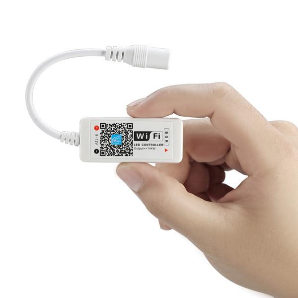 AL-LC01 DC 9-12V Super Mini Smart LED WIFI RGB Controller For RGB LED Strip Light