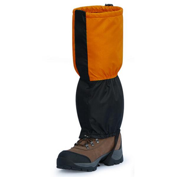 Windproof Waterproof Ski Snow Shoes Wind Tour Cover Orange Colour