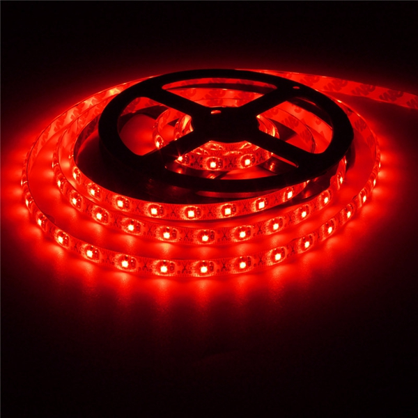 2M 3528 120LED 9.6W USB LED Strip Light TV Background Lighting IP65 Kit 5V Colour Red