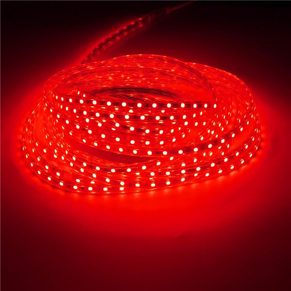 10M IP67 Waterproof 600SMD 5050 LED Light Strip 220V - Red