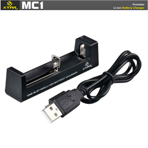 XTAR MC1 Micro USB Smart Charger for 18650 14500 26650 Battery