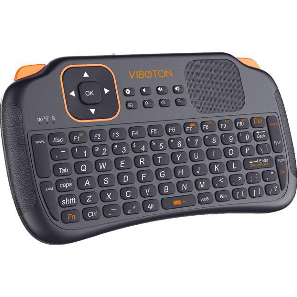 VIBOTON S1 Mini 2.4GHz Wireless Smart Keyboard with Touchpad for TV Box Android TV HTPC