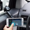 2 in 1 Universal Magnetic Suction Cup Stand Holder Mount for Car Air Outlet iPhone Samsung Android