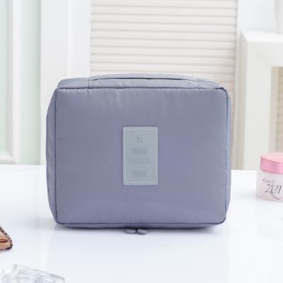Portable Travel Organizer Cosmetic Makeup Storage Bag Gray Colour