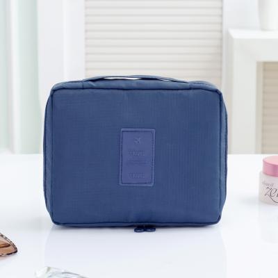 Portable Travel Organizer Cosmetic Makeup Storage Bag Navy Colour