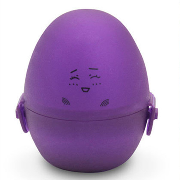 Cute Masturbator Pocket Eggs Cup Silicone Glans Penis Traning Toy Sex Products  Purple Colour